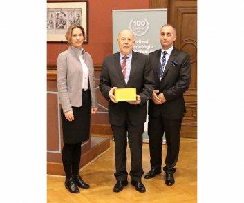 Elismerésben részesülők - Kovács Zsigmond - CONTROL-X Medical Kft. ügyvezető igazgatója