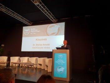 Dr. Steiner Arnold MediKlaszter elnökének köszöntője