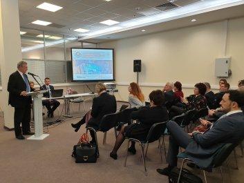 Moszkva_HEPA konferencia_Klaszter díszvendége_Farkas Bertalan_2019.12.04